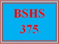 BSHS 375 Week 3 Technological Access to Services Presentation