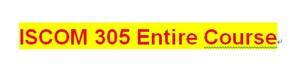ISCOM 305 Week 5 Operations Management Problem Exercises