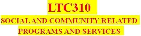 LTC310 All Weeks DQs