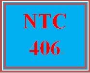 NTC 406 Week 3 Individual: Internet Transport Services