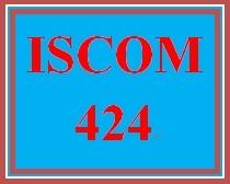 ISCOM 424 Week 2 Supply Chain Complexities