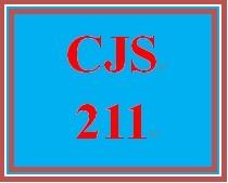 CJS 211 Entire Course