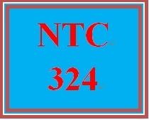 NTC 324 Week 5 Individual: Systems Scenario