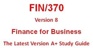 FIN 370 Week 1 Definitions
