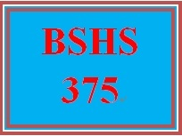 BSHS 375 Week 2 Software for Human Services Organizations
