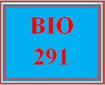 BIO 291 Week 7 WileyPLUS Worksheets