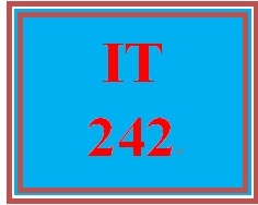 IT 242 Week 1 Individual: Viewing the MAC Address on Your System
