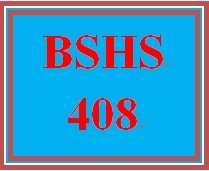 BSHS 408 Week 4 Repressed Memories
