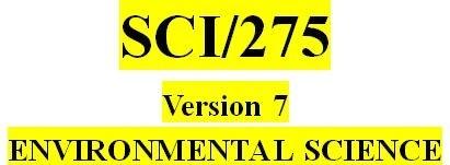 SCI 275 Week 2 Conservation Versus Preservation