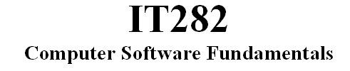 IT282 Week 1 Assignment - Introduction to Operating Systems