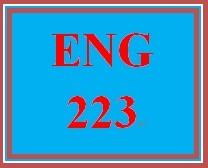 ENG 223 Week 1 Written Communication in the Workplace