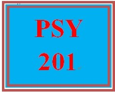 PSY 201 Week 2 A Research Plan