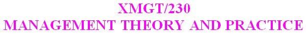 XMGT 230 Week 1 DQ 1