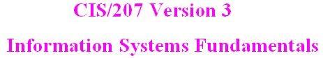 CIS 207 Week 2 Individual - Information Use Paper