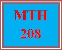 MTH 208 Week 2 Beginning and Intermediate Algebra, Ch. 2
