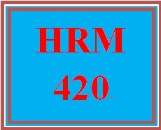 HRM 420 Week 3 Employee Selection Process