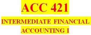 ACC 421 Week 4 Textbook Problems
