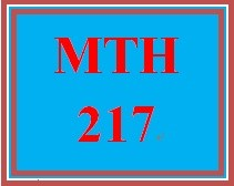 MTH 217 Week 4 Analyzing College Success Scenario