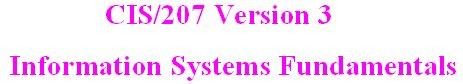 CIS 207 Week 1 Individual - Effect of Systems on Business
