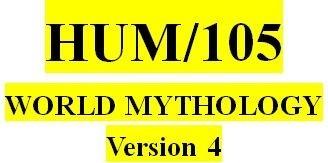 HUM 105 Week 2 Cosmic Creation Myths Across Cultures