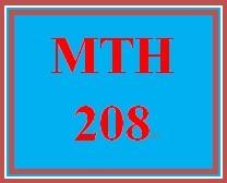 MTH 208 Week 1 participation Resources