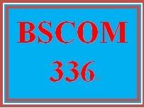 BSCOM 336 Week 2 Communication Theories Paper