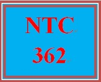 NTC 362 Week 3 Individual: Lab Reflection
