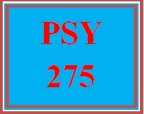 PSY 275 Week 4 Literature Review