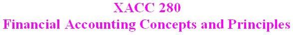 XACC 280 Week 3 DQ 2