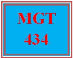 MGT 434 Week 4 Signature Assignment: Employee Conduct, Termination, & Progressive Discipline
