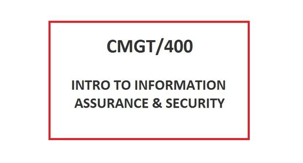 CMGT 400 Week 5 Learning Team Kudler Fine Foods IT Security Report