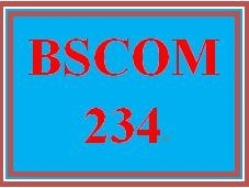 BSCOM 234 Week 1 Using Language Effectively
