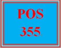 POS 355 Week 2 Learning Team: Operating Systems Project, Part I