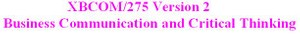 XBCOM 275 Week 4 Assignment - Article Rebuttal