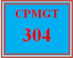 CPMGT 304 Week 2 Organizational Structure