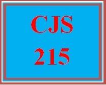 CJS 215 Week 4 Crime Scene Paper