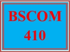 BSCOM 410 Week 4 Hot Button Issue Paper