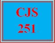 CJS 251 Week 2 Courtroom Participation Professional Standards