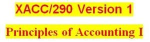 XACC 290 Week 9 Financial Reporting Problem part 2