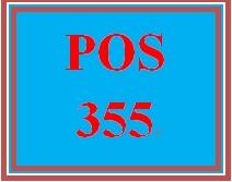 POS 355 Week 4 Individual: Failures
