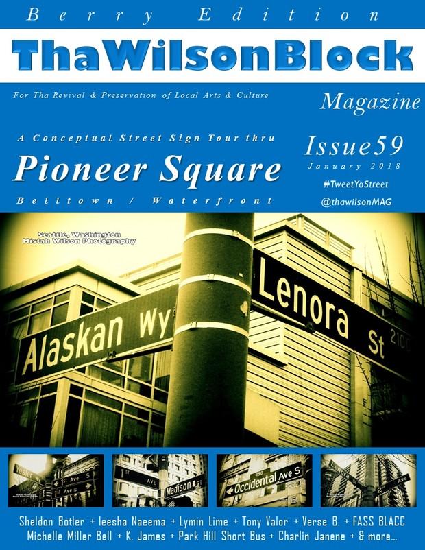 ThaWilsonBlock Magazine Issue59 (Berry Edition / January 2018)