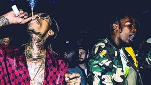 Wiz Khalifa X Travis Scott Type Beat