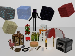 cinema 4d model pack v 1