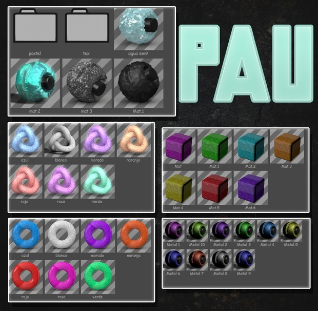 Simple Mats pack | free