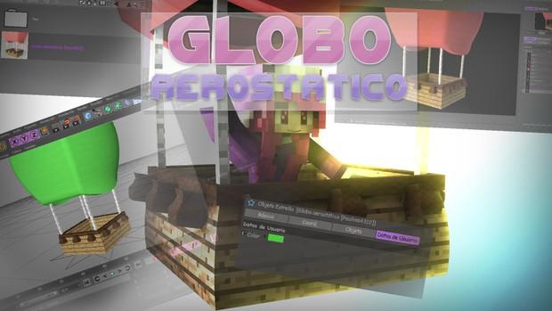 Globo Aerostatico  Minecraft rig
