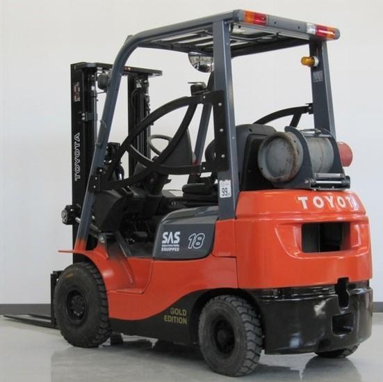 Toyota (BT) 7FDF15,7FDF18, 7FDF20,7FDF25, 7FDF30, 7FDJ35 sel Forklift on