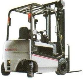 Nissan GQ02L20, GQ02L25, GQ02L30, Q02L20, Q02L25, Q02L30 -CU Electric  Forklift Truck Service Manual