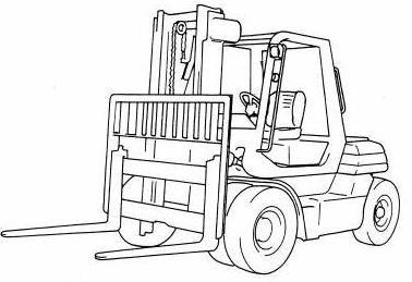 Toyota 5FD50, 5FD60, 5FD70, 5FD80, 5FG50, 5FG60 Forklift Truck Workshop  Service Manual (CE007+CE017)