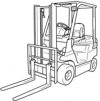 Toyota 7FB10-7FB30, 7FBJ35, 7FBH10-7FBH25 Electric Forklift Truck with OPS  Service Manual (CE316-2)