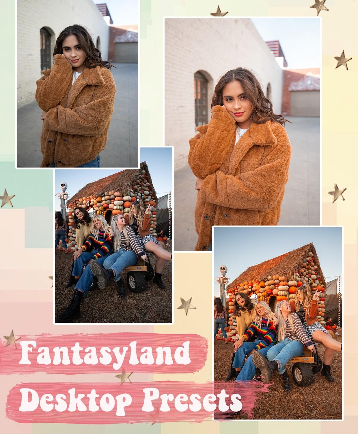 Fantasyland Preset Pack - DESKTOP #JessPresets